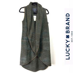 Lucky Brand long vest